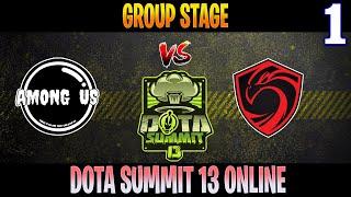 Among Us vs Cignal Ultra Game 1 | Bo2 | Group Stage DOTA Summit 13 | DOTA 2 LIVE