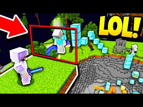 INVISIBLE WALL TROLL! (Minecraft Server Trolling)