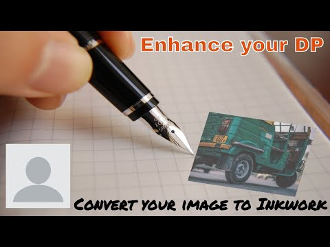 How to convert your Image to Inkwork || Enhance your whatsapp DP