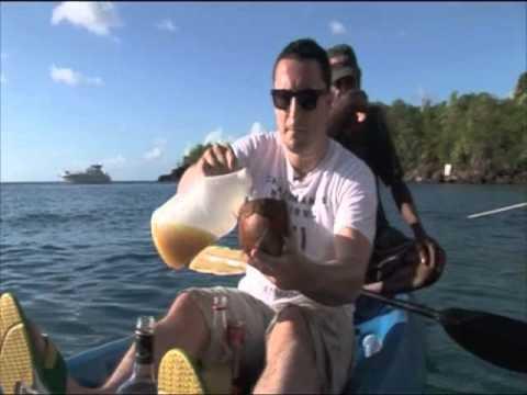 St Lucian Rum Punch