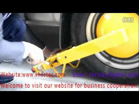 wheel boot lock with better lock mechanism