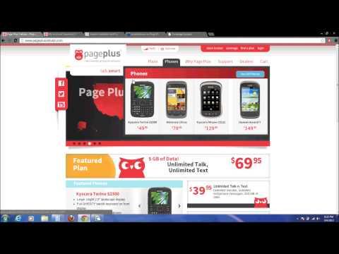 Page Plus Prepaid Review Part 1 Coverage & Phones