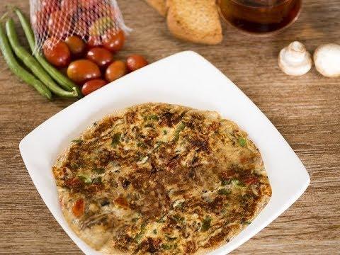 Vegetable Omelette/ How to make vegetable omelette/ Delicious omelette recipes
