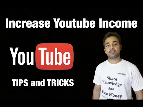 How to increase youtube earnings in just 6 amazing SEO tips in HINDI