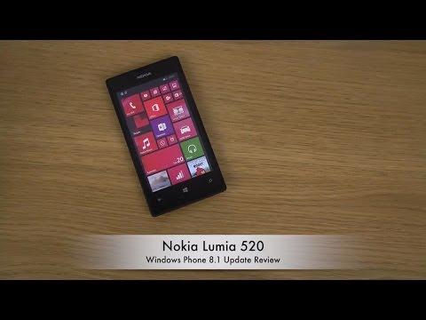 Nokia Lumia 520 - Windows Phone 8.1 Update Review