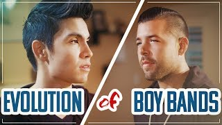 Evolution of Boy Bands MASHUP!! ft Sam Tsui & Michael Constantino