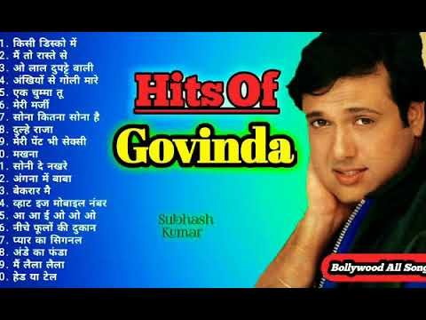 Download HITS OF GOVINDA  ❤ Jukebox  💝 Superhit Bollywood Songs Collection   Best Dance Songs MP3 Gratis