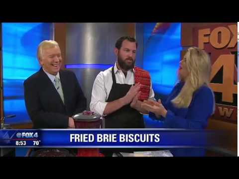 Fried Brie Biscuits