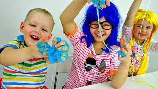 Download Как сделать лизуна? Уроки химии для детей. Video
