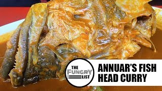 Anwar's Curry Fish Head | Indian Food On a Budget in Bangsar | Fungry List