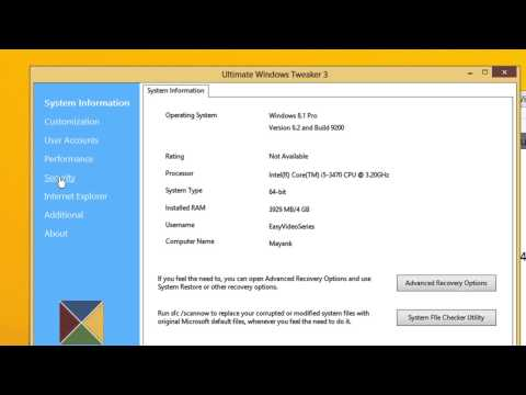 Enable OR Disable Registry Editor   Security Tweaks    Windows 8 and 8 1   A Step by Step Tutorial