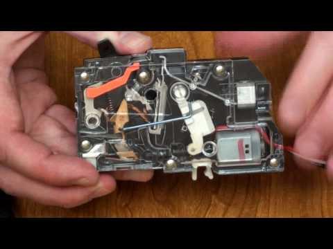 Controllable Motorized Circuit Breaker Tutorial