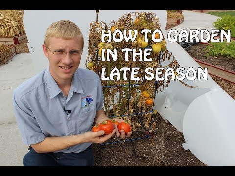 How To Garden In The Late Season