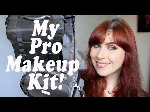 My Pro Makeup Kit   Set-up & Organisation