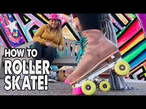 HOW TO ROLLER SKATE! - Planet Roller Skate Ep.2