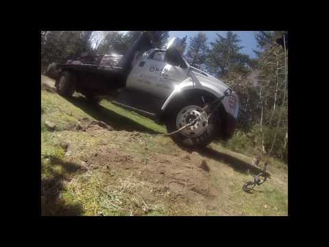 Septic Tank + Loaded Truck  = FAIL