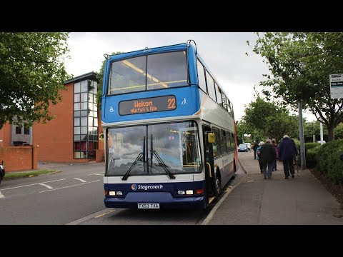 Stagecoach East Midlands   East Lancs Vyking/Volvo B7TL   22 to Welton  