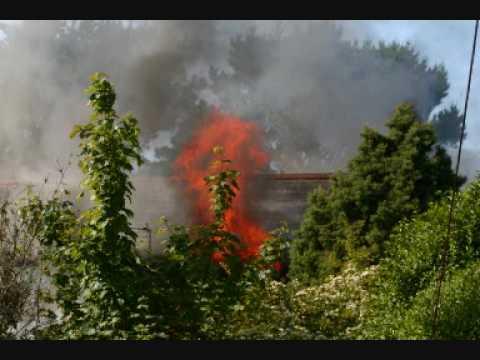 St Agens House Fire 1st June 2009