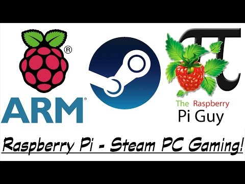 Raspberry Pi - Steam PC Game Streaming Tutorial!