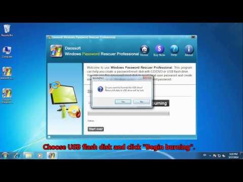 How to Simply Reset Windows 8 Login Password on Toshiba Satellite Laptop