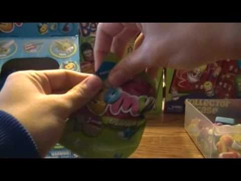 Gomu Collectible Erasers .. Opening Packs ... Whole Box of Collectible Erasers ... Part 3 of 4