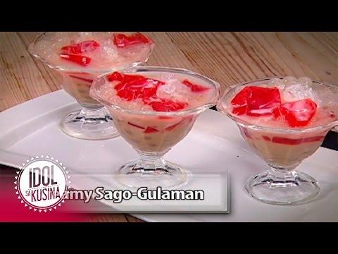 Idol sa Kusina recipe: Creamy Sago Gulaman