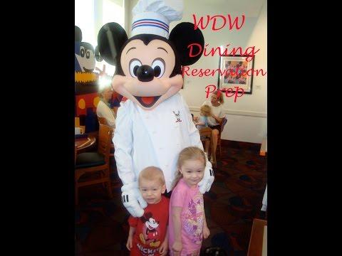 DISNEY WORLD | DINING RESERVATION TIPS