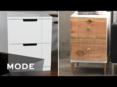 DIY Dress Up Your Dresser   Right at Home ★ Glam.com