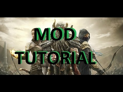 ESO Tutorial: How do you Download Mods!?! (Manually)