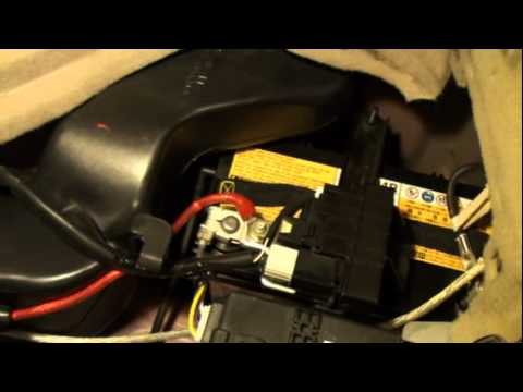 How to change a Battery in a Prius
