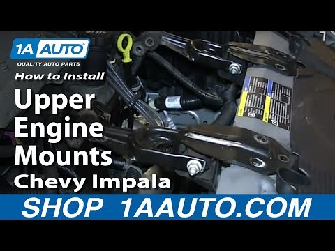 How To Install Replace Upper Engine Mounts 2006-12 Chevy Impala 3.5L