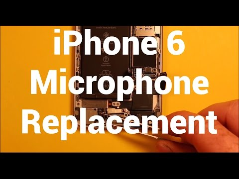 iPhone 6 Microphone Replacement How To Change