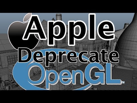 Apple Deprecate OpenGL in next iOS and Mac OS releases