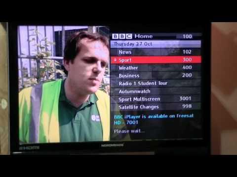 Digital Teletext on the Triax ST HD 537