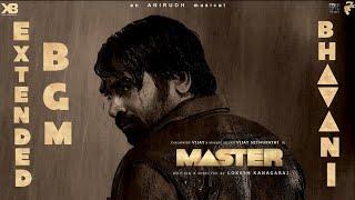 MASTER - Bhavani BGM | Anirudh | Vijay | Vijay Sethupathi