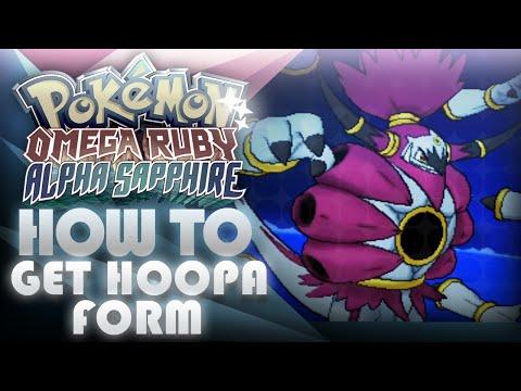 Pokemon ORAS How To Get Hoopa Unbound Form! Prison Bottle - Mootypwns