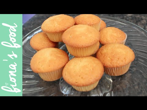 Really Simple Vanilla Cupcakes | fiona's food