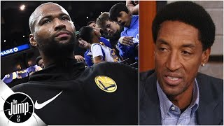 DeMarcus Cousins will fit in the Warriors' starting lineup - Scottie Pippen | The Jump