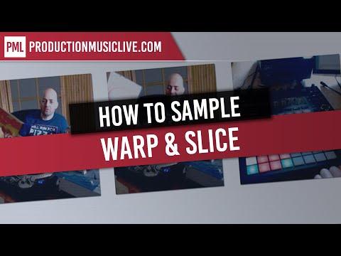 How to Sample, Warp & Slice in Ableton 2018 (Sampling Vinyl Records)