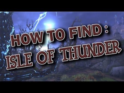 How to get to the 'Isle of Thunder' - World of Warcraft