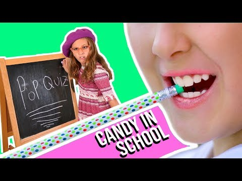 6 ways to SNEAK CANDY into SCHOOL and troll your friends!