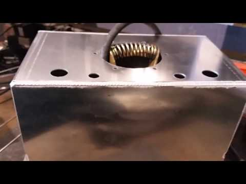 Fuel Cell Pulse Tig Welding on Miller Dynasty 350
