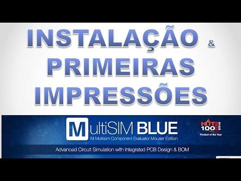 MultiSim Blue - Instalação e primeiras impressões