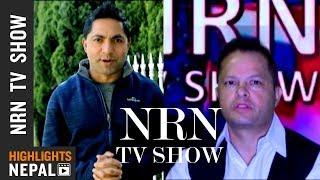 NRN TV Show Ep 77 | Report On Nepalese Lifestyle In Foreign Countries  | Rajan Ghimire