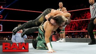 Jason Jordan & Matt Hardy vs. The Miztourage: Raw, Sept. 25, 2017