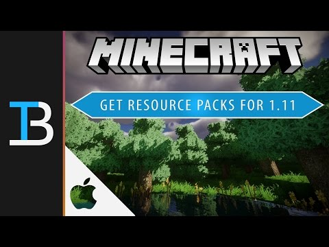How to Install Resource Packs in Minecraft 1.11 on a Mac (Change the Look of Minecraft 1.11)