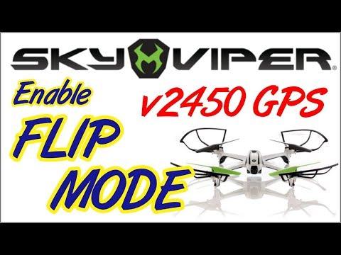 Sky Viper V2450 GPS Drone Flip Mode