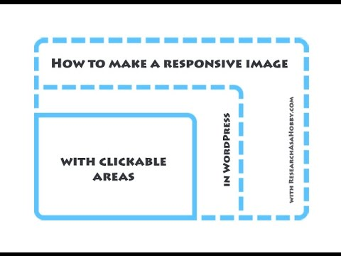 How to make responsive image with clickable areas (image map) for free