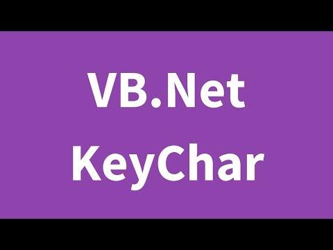 VB.Net KeyChar