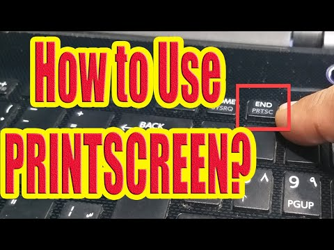 Take Print Screen on Windows 10, 8, 7 Easy Screenshot